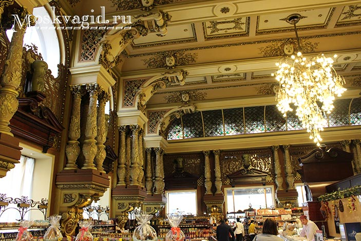 Елисеевский магазин в Москве фото